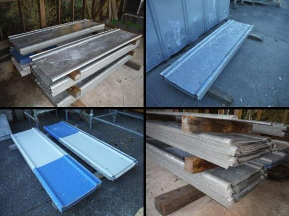 中古品 安全鋼板H2m 厚み1.2mm商品スライド画像1枚目