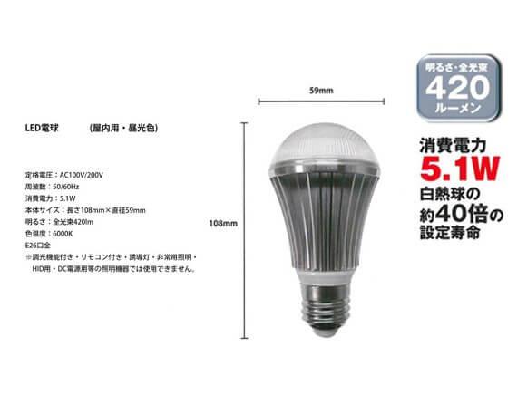 LEDクリップランプ商品スライド画像2枚目
