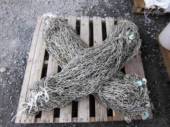 中古品 吊りチェーン3m商品スライド画像1枚目