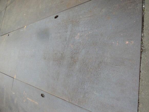 中古品 敷き鉄板商品スライド画像2枚目