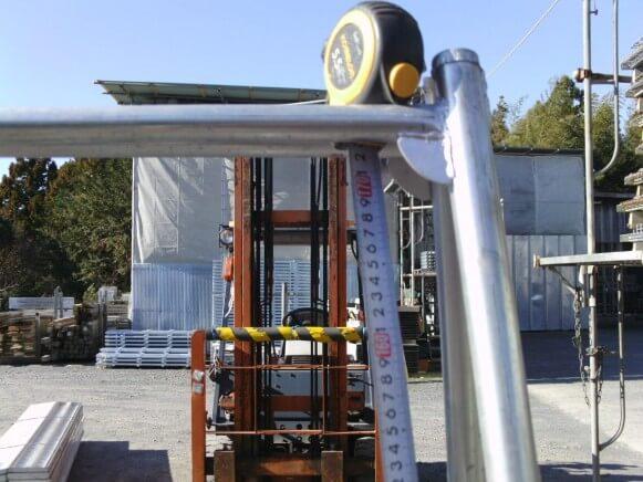 中古品 鋼製脚立3尺商品スライド画像3枚目