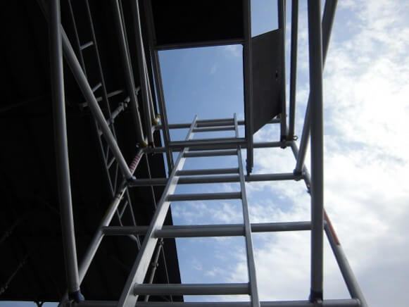 【中古品】アルミ製ローリングタワー商品スライド画像4枚目