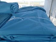【新古品】メッシュシート2類・ライトブルー商品スライド画像1枚目
