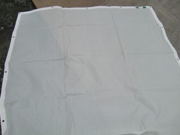【新古品】メッシュシート2類 白商品スライド画像1枚目