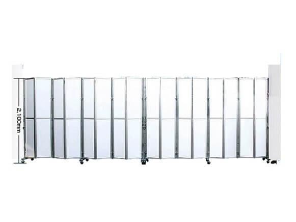 パネルキャスターゲート(アルミ製)商品スライド画像2枚目