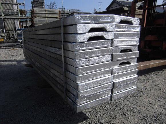 【中古品】鋼製足場板2.0M商品スライド画像2枚目