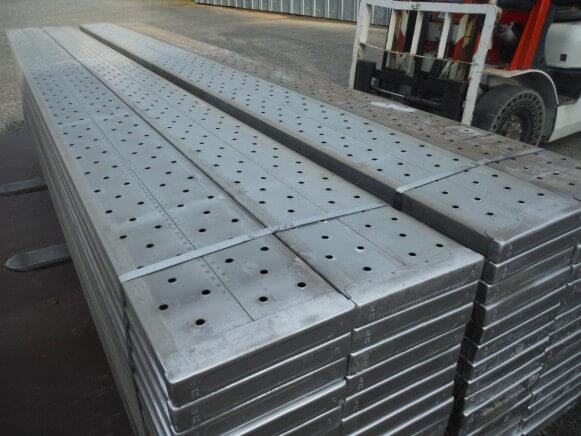 中古 鋼製足場板4M商品スライド画像2枚目