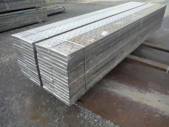 中古 鋼製足場板4M商品スライド画像3枚目