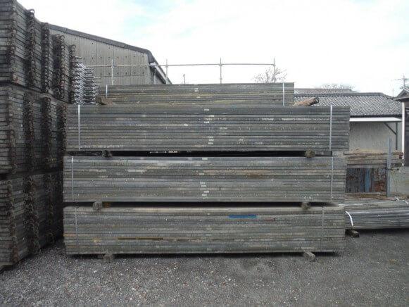 中古 鋼製足場板4M商品スライド画像5枚目
